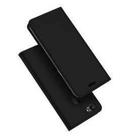 Dux Ducis Oppo F5 Youth case - Dux Ducis Skin Pro Book Case - Black