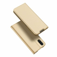 Samsung Galaxy A01 hoesje - Dux Ducis Skin Pro Book Case - Goud