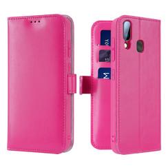 Samsung Galaxy A20e case - Dux Ducis Kado Wallet Case - Pink
