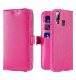 Dux Ducis Samsung Galaxy A20e case - Dux Ducis Kado Wallet Case - Pink
