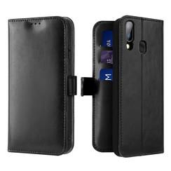 Samsung Galaxy A20e case - Dux Ducis Kado Wallet Case - Black