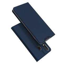 Samsung Galaxy A20e case - Dux Ducis Skin Pro Book Case - Blue