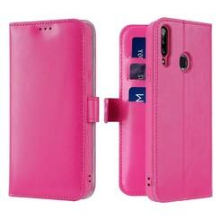 Samsung Galaxy A20s telefoonhoesje - Dux Ducis Kado Wallet Case - Pink