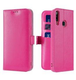Dux Ducis Samsung Galaxy A20s telefoonhoesje - Dux Ducis Kado Wallet Case - Pink
