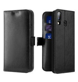Dux Ducis Samsung Galaxy A40 case - Dux Ducis Kado Wallet Case - Black
