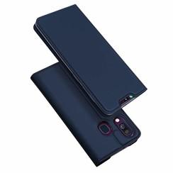 Samsung Galaxy A40 hoesje - Dux Ducis Skin Pro Book Case - Blauw