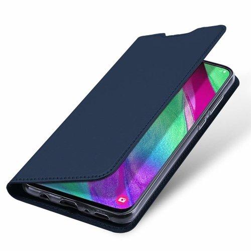 Dux Ducis Samsung Galaxy A40 hoesje - Dux Ducis Skin Pro Book Case - Blauw