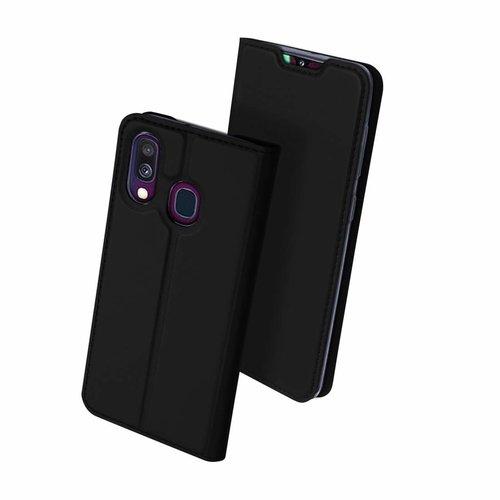 Dux Ducis Samsung Galaxy A40 hoesje - Dux Ducis Skin Pro Book Case - Zwart