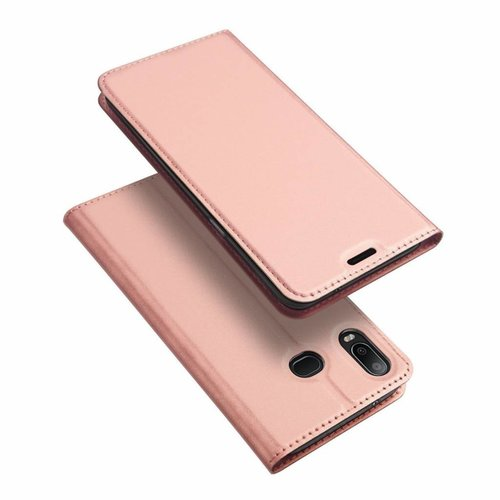 Dux Ducis Samsung Galaxy A6s hoesje - Dux Ducis Skin Pro Book Case - Roze