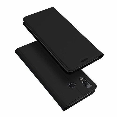 Dux Ducis Samsung Galaxy A6s hoesje - Dux Ducis Skin Pro Book Case - Zwart