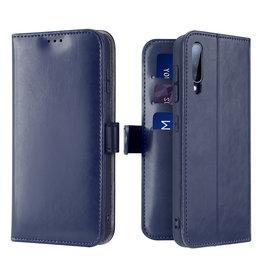 Dux Ducis Samsung Galaxy A70 case - Dux Ducis Kado Wallet Case - Blue