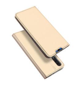 Dux Ducis Samsung Galaxy A70 case - Dux Ducis Skin Pro Book Case - Gold