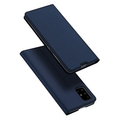 Samsung Galaxy A71 case - Dux Ducis Skin Pro Book Case - Blue