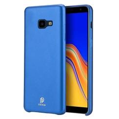 Samsung Galaxy J4 Plus hoes - Dux Ducis Skin Lite Back Cover - Blauw