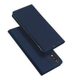 Dux Ducis Samsung Galaxy M10 case - Dux Ducis Skin Pro Book Case - Blue