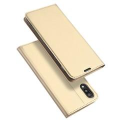 Samsung Galaxy M10 hoesje - Dux Ducis Skin Pro Book Case - Goud