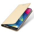 Dux Ducis Samsung Galaxy M10 hoesje - Dux Ducis Skin Pro Book Case - Goud