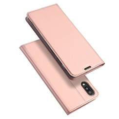 Samsung Galaxy M10 hoesje - Dux Ducis Skin Pro Book Case - Rosé-Gold
