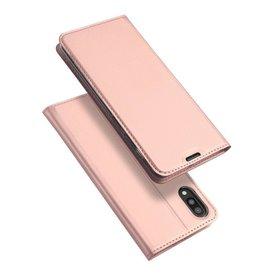 Dux Ducis Samsung Galaxy M10 case - Dux Ducis Skin Pro Book Case - Rosé-Gold