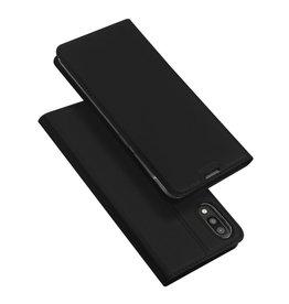 Dux Ducis Samsung Galaxy M10 case - Dux Ducis Skin Pro Book Case - Black