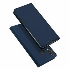 Samsung Galaxy M20 hoesje - Dux Ducis Skin Pro Book Case - Blauw