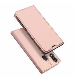 Dux Ducis Samsung Galaxy M20 case - Dux Ducis Skin Pro Book Case - Rosé-Gold