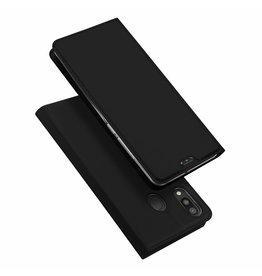 Dux Ducis Samsung Galaxy M20 case - Dux Ducis Skin Pro Book Case - Black