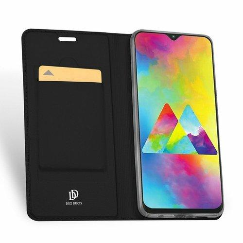 Dux Ducis Samsung Galaxy M20 hoesje - Dux Ducis Skin Pro Book Case - Zwart