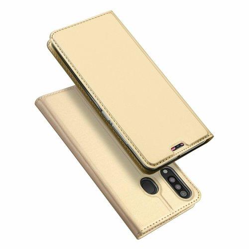 Dux Ducis Samsung Galaxy M30 hoesje - Dux Ducis Skin Pro Book Case - Goud