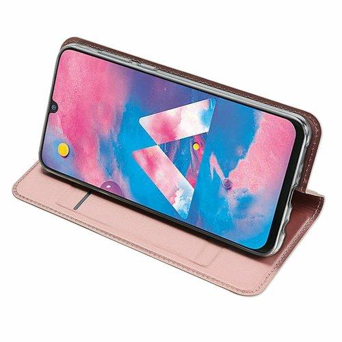 Dux Ducis Samsung Galaxy M30 hoesje - Dux Ducis Skin Pro Book Case - Rosé-Gold