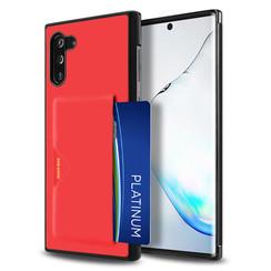Samsung Galaxy Note 10 Hoesje - Dux Ducis Pocard Case - Rood
