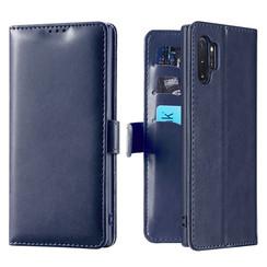 Samsung Galaxy Note 10 Plus hoesje - Dux Ducis Kado Wallet Case - Blauw