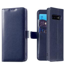 Dux Ducis Samsung Galaxy S10 case - Dux Ducis Kado Wallet Case - Blue