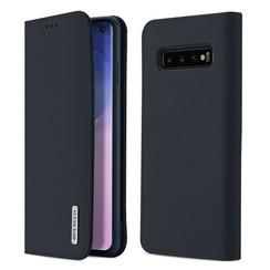 Samsung Galaxy S10 case - Dux Ducis Wish Wallet Book Case - Blue