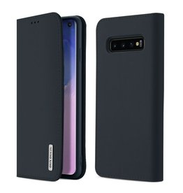 Dux Ducis Samsung Galaxy S10 case - Dux Ducis Wish Wallet Book Case - Blue