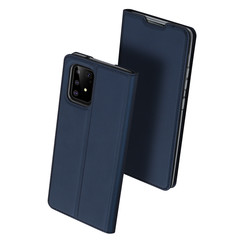 Samsung Galaxy S10 Lite case - Dux Ducis Skin Pro Book Case - Blue