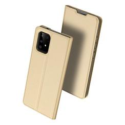 Samsung Galaxy S10 Lite case - Dux Ducis Skin Pro Book Case - Gold