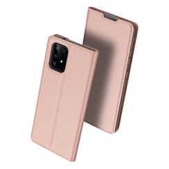 Samsung Galaxy S10 Lite case - Dux Ducis Skin Pro Book Case - Rosé Gold