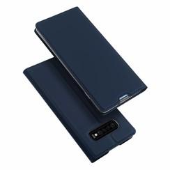 Samsung Galaxy S10 Plus hoesje - Dux Ducis Skin Pro Book Case - Blauw