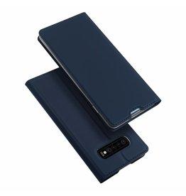 Dux Ducis Samsung Galaxy S10 Plus case - Dux Ducis Skin Pro Book Case - Blue
