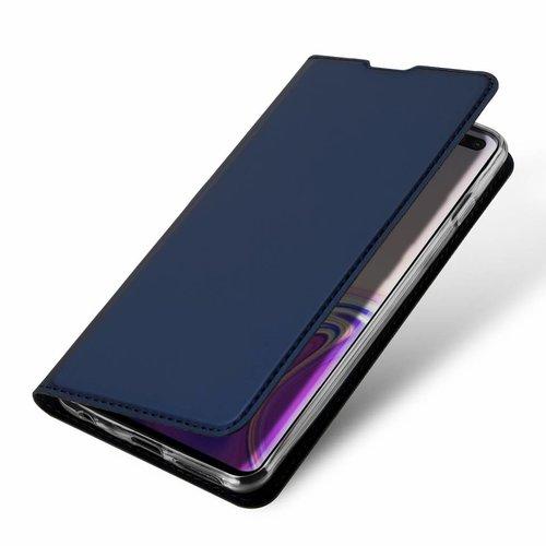 Dux Ducis Samsung Galaxy S10 Plus hoesje - Dux Ducis Skin Pro Book Case - Blauw