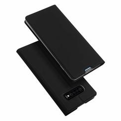 Samsung Galaxy S10 Plus case - Dux Ducis Skin Pro Book Case - Black