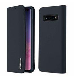 Dux Ducis Samsung Galaxy S10 Plus case - Dux Ducis Wish Wallet Book Case - Blue