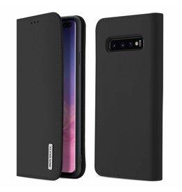 Dux Ducis Samsung Galaxy S10 Plus case - Dux Ducis Wish Wallet Book Case - Black