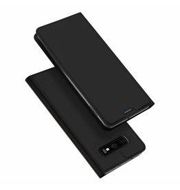 Dux Ducis Samsung Galaxy S10e case - Dux Ducis Skin Pro Book Case - Black