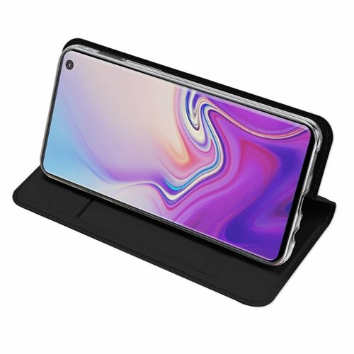 Dux Ducis Samsung Galaxy S10e hoesje - Dux Ducis Skin Pro Book Case - Zwart