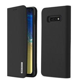 Dux Ducis Samsung Galaxy S10e case - Dux Ducis Wish Wallet Book Case - Black
