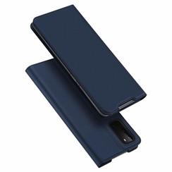 Samsung Galaxy S20 case - Dux Ducis Skin Pro Book Case - Blue