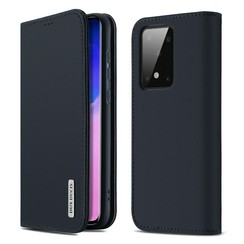 Samsung Galaxy S20 case - Dux Ducis Wish Wallet Book Case - Blue