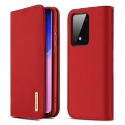 Samsung Galaxy S20 case - Dux Ducis Wish Wallet Book Case - Red